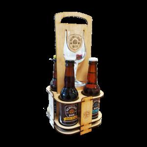Cadeaupakket Bierhouder met glas
